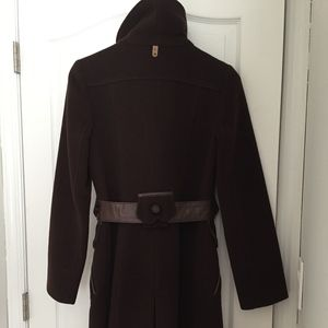 Mackage Brown Wool Coat size XS